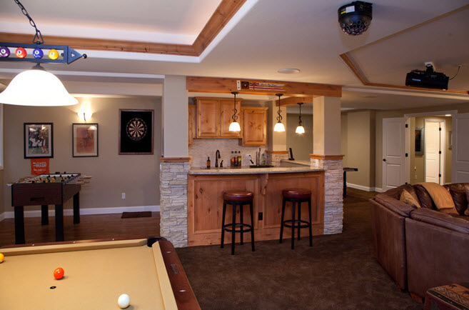Merveilleux Basement Finishing Ideas