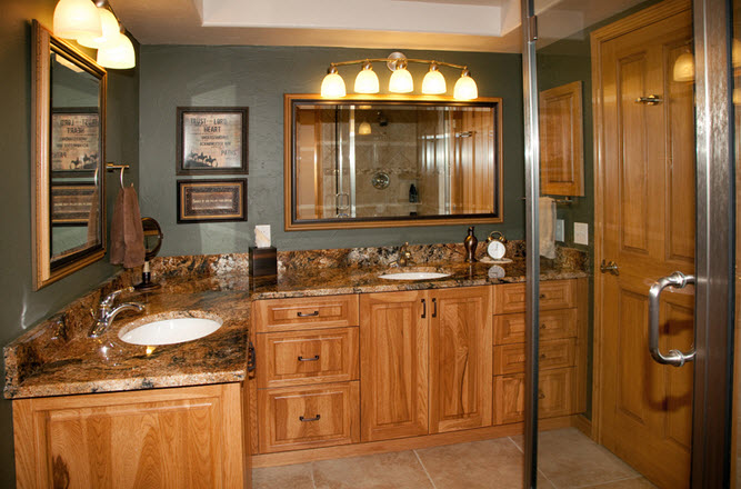 Affordable Bathroom Remodeling Bill Wegner Renovation Consultant - Do it yourself bathroom renovation
