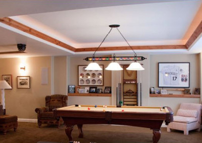 Major Home Remodel Game Room