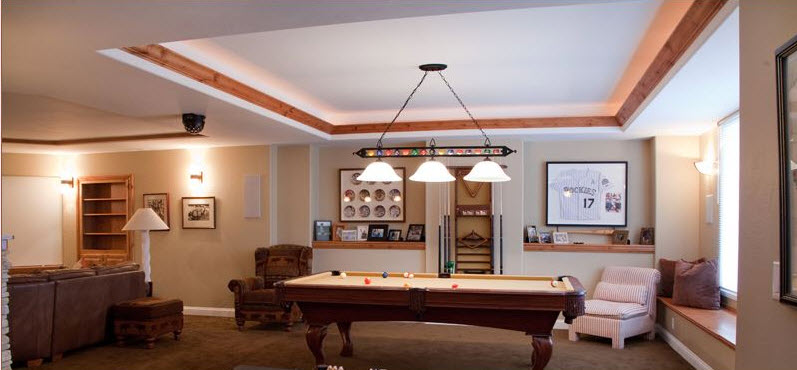 Major Home Remodeling Game Room Projects