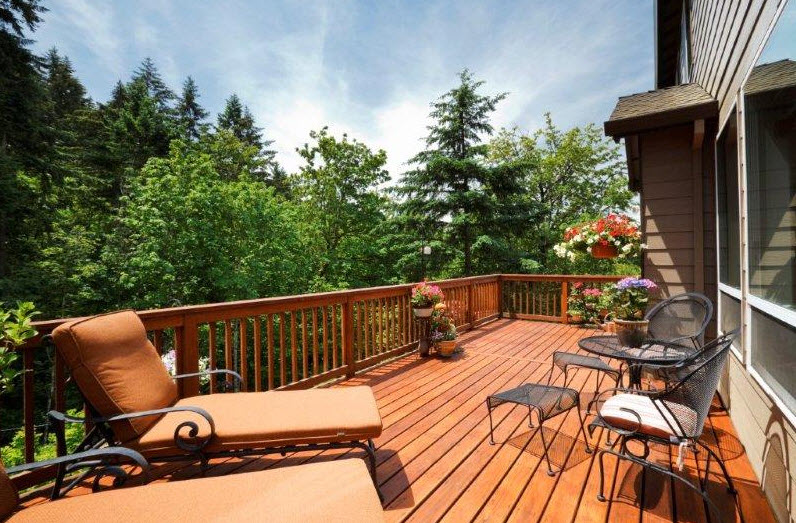Rear Deck Home Renovation Ideas